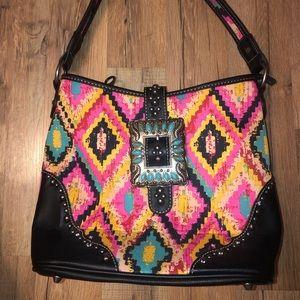 Montana west multi colored purse